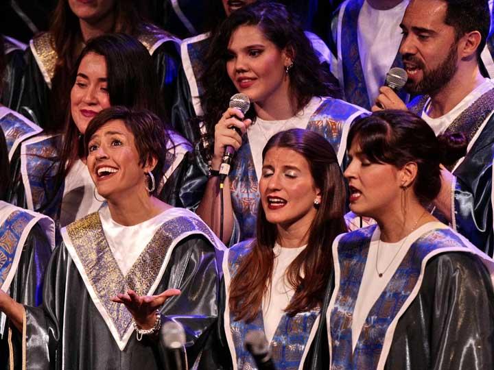 Concierto Gospel Solidario 2015 Mujeres de la Unidad de Mama