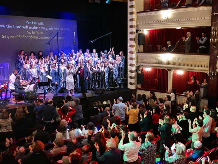 Concierto Gospel Solidario 2019 Mujeres de la Unidad de Mama