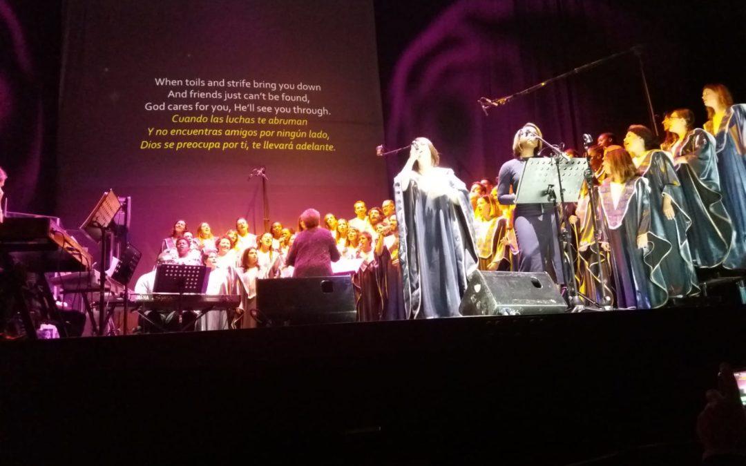 El Coro Gospel de Madrid, premiado por su acción social